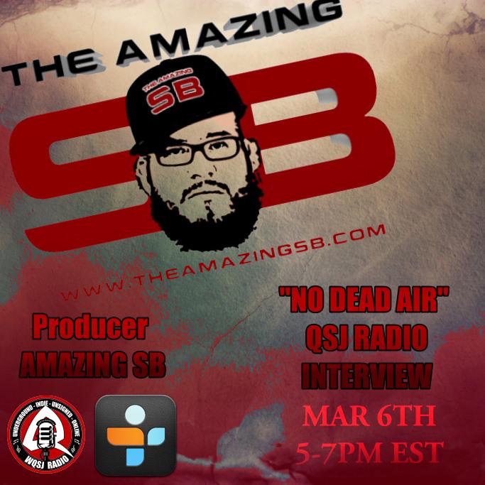 QSJ Radio | 3.6.2014 No Dear Air with Amazing SB @AmazingSbdotcom
