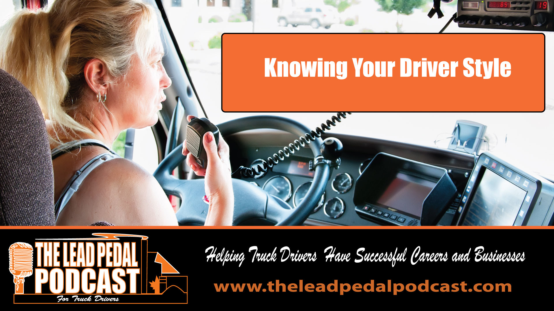 LP581 Does the Style of Driver You Are Determine Your Career Path?