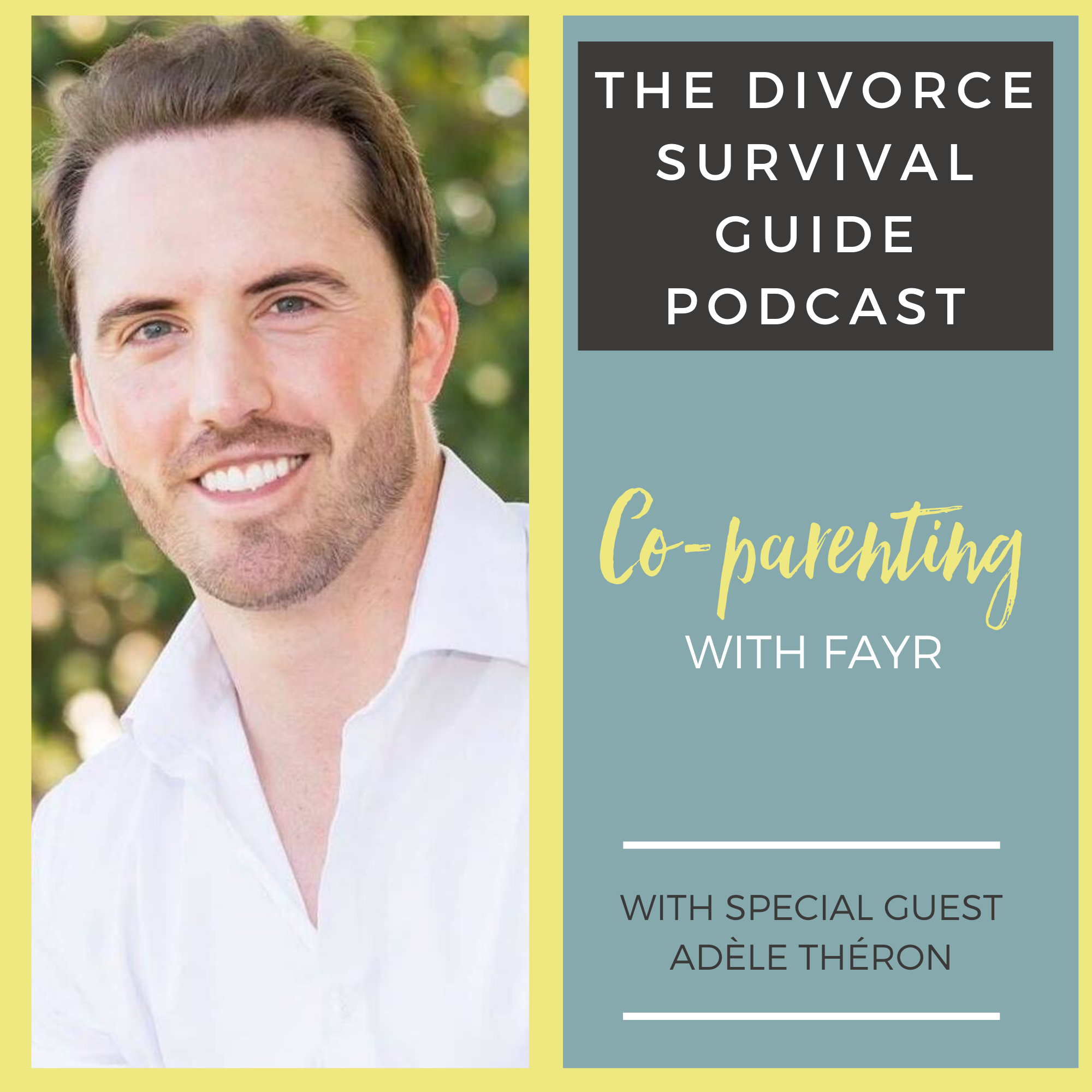 The Divorce Survival Guide Podcast - Co-parenting with FAYR with Michael Daniels