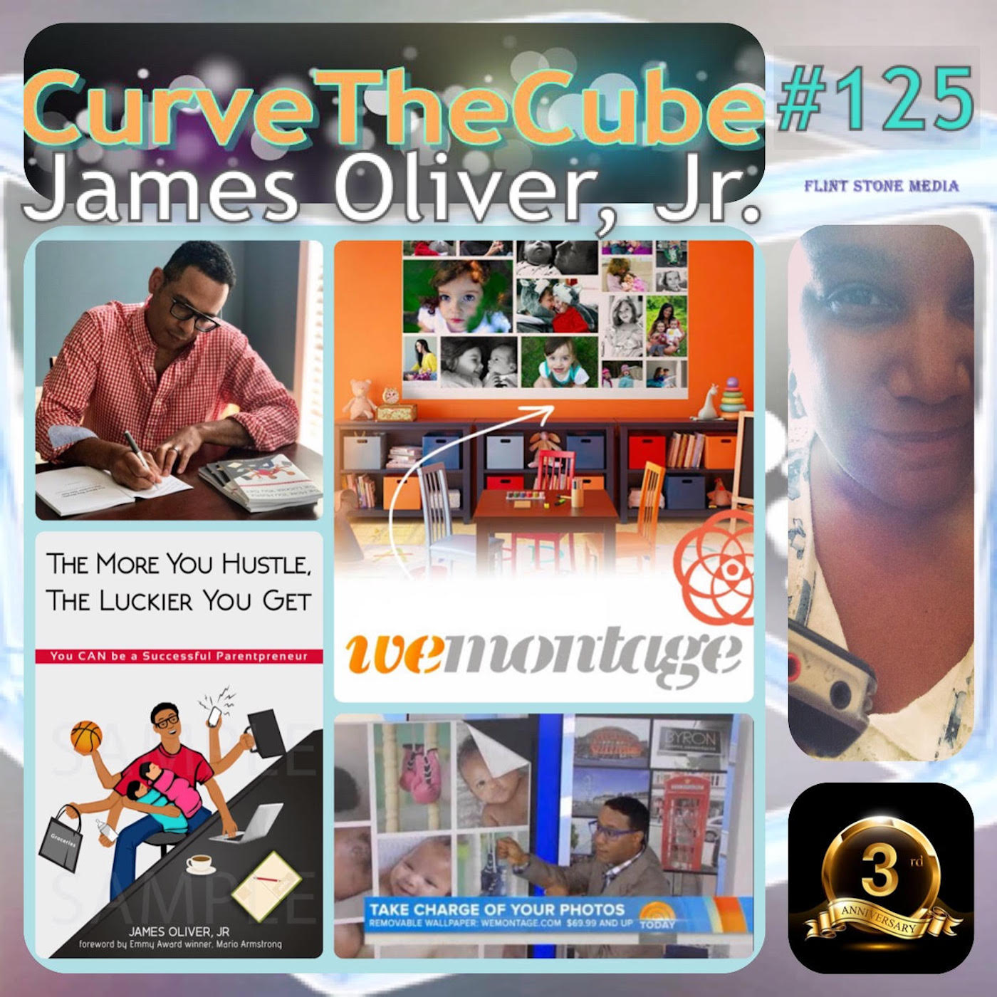 Author and Entrepreneur James Oliver, Jr. on the Curve the Cube Podcast