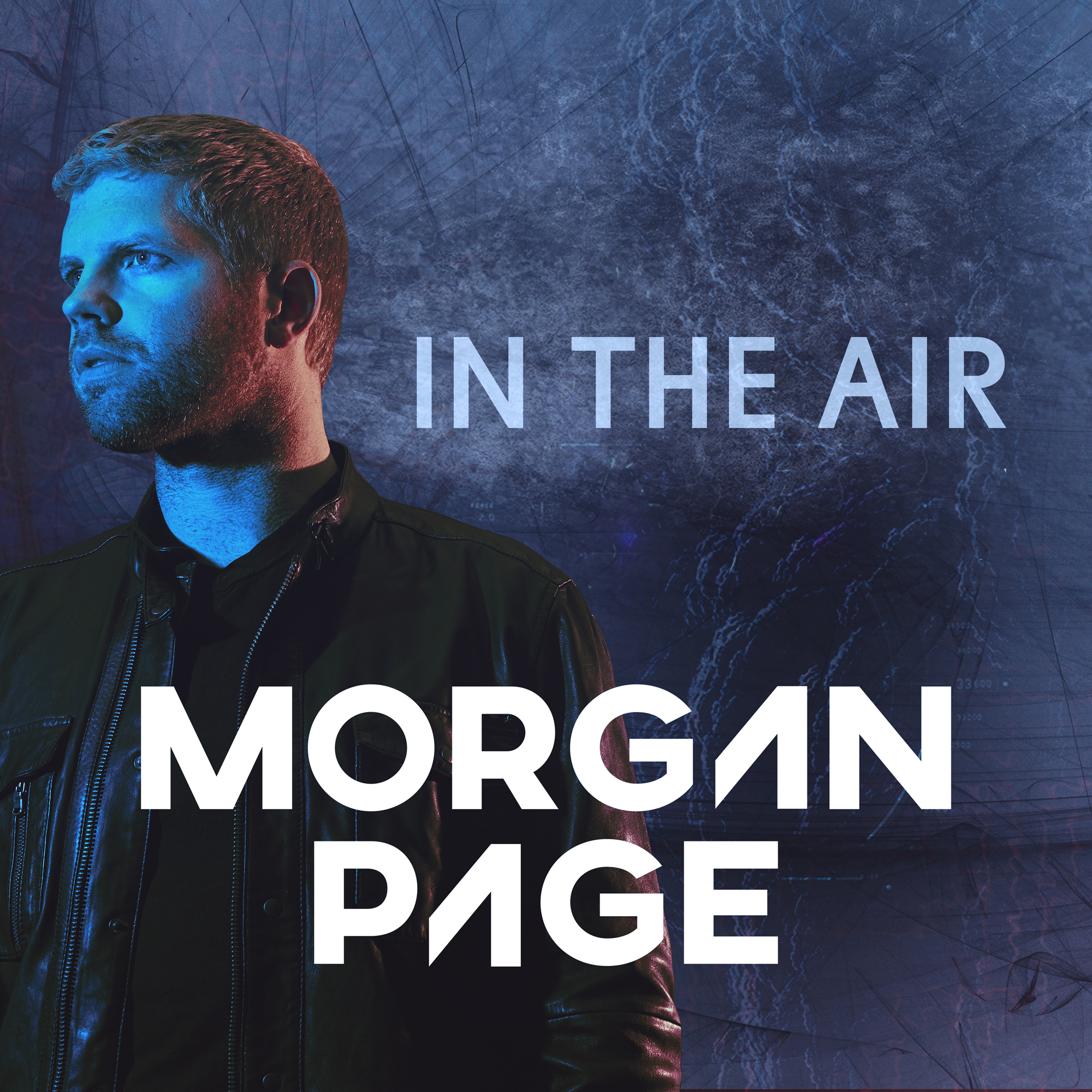 Morgan Page - In The Air show art