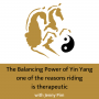 Artwork for The Balancing Power of Yin Yang one of the reasons Riding is Therapeutic