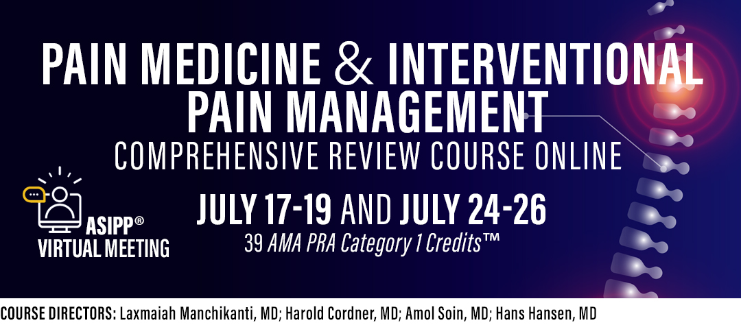 ASiPP Pain Management Board Review Course