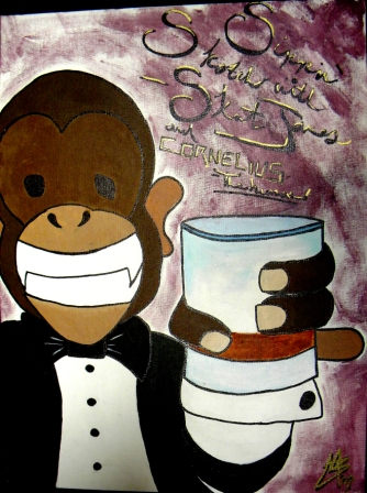 Artwork for Sippin' Skotch with Skat Jones with Cornelius the Human ESW Show