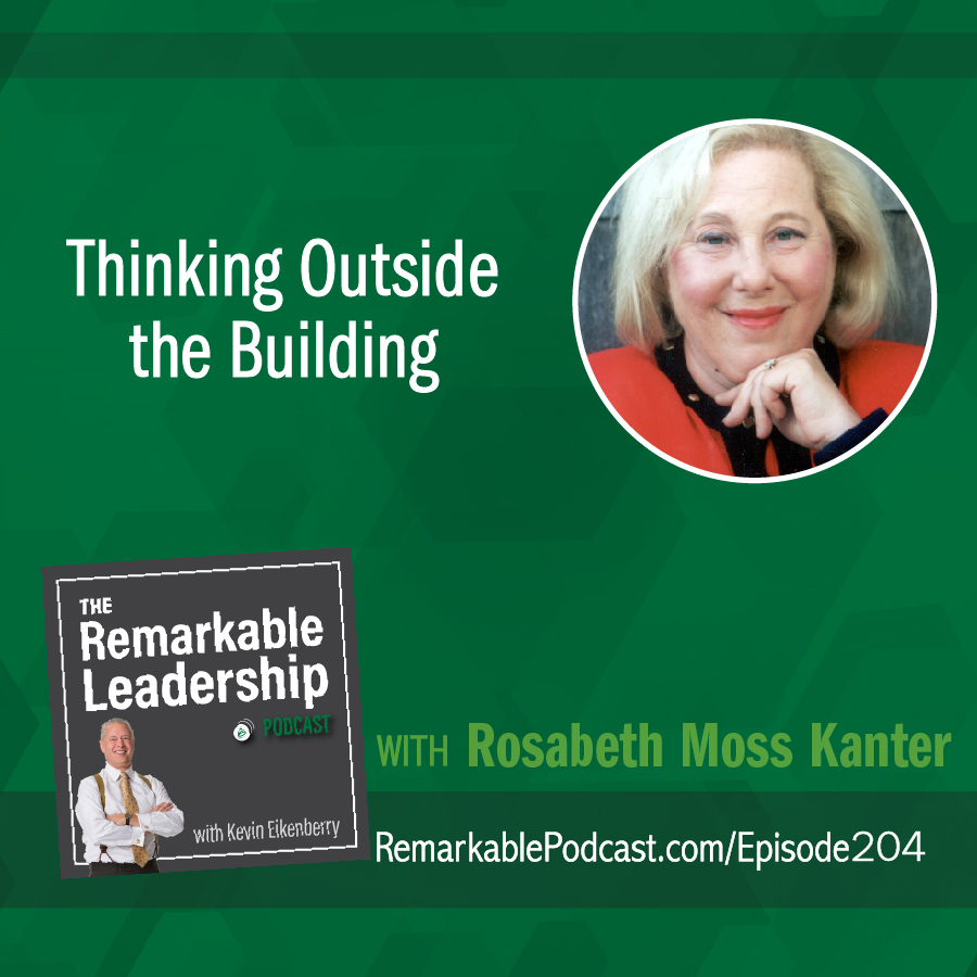 Thinking Outside the Building with Rosabeth Moss Kanter  show art