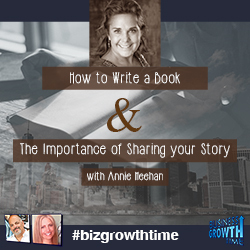 50 - How to Write a Book & The Importance of Sharing your Story with @anniemeehan