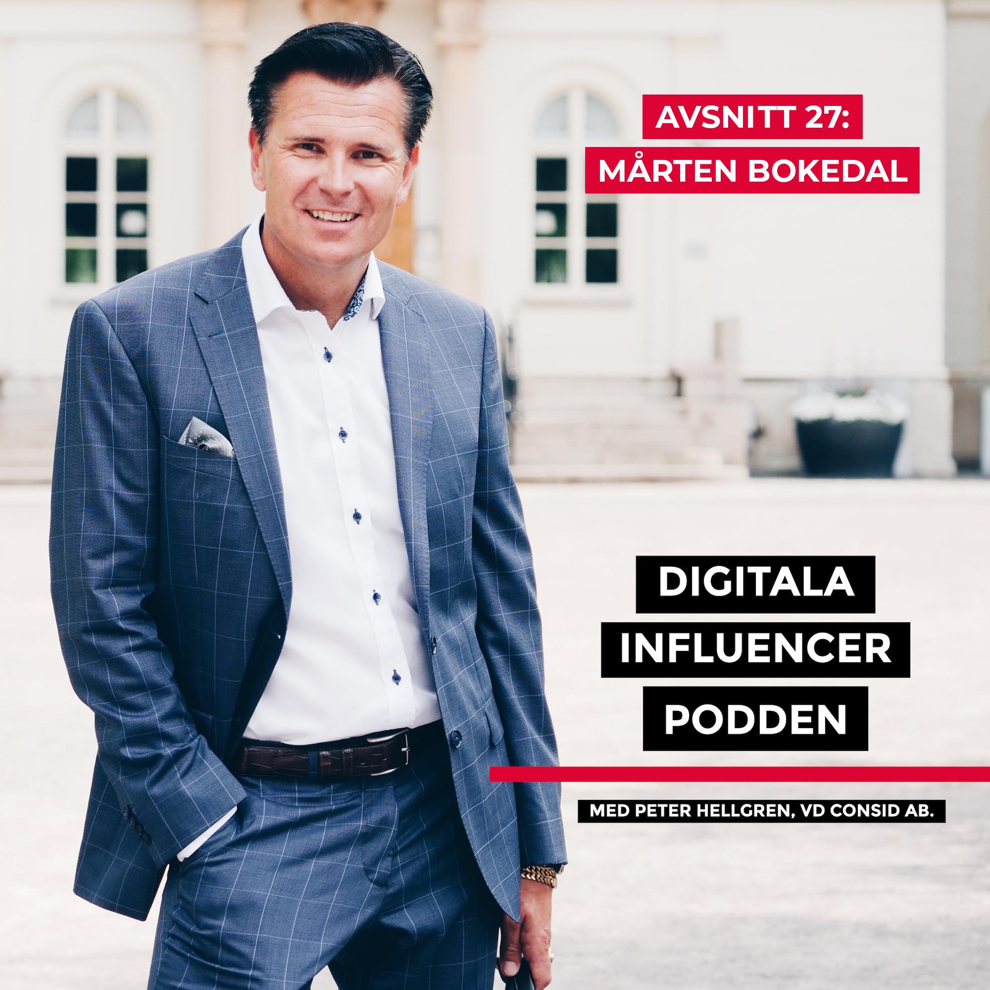 27. Mårten Bokedal, nordisk marknadschef Episerver – att bryta silos, butiksdöden och framtidens CMS-lösningar