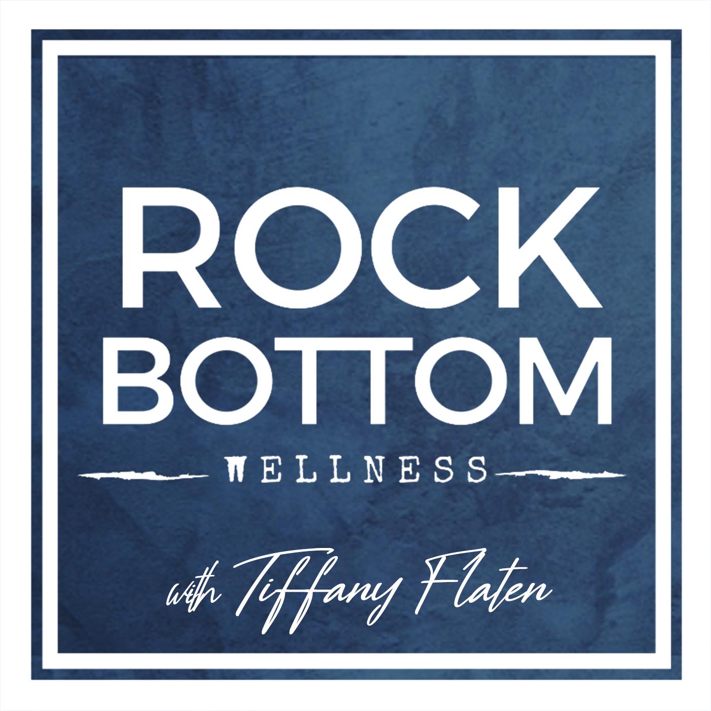 Rock Bottom Wellness show art