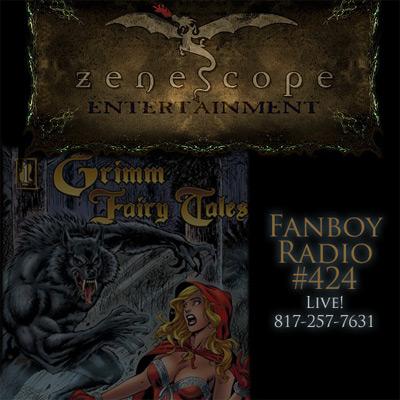 Fanboy Radio #424 - Zenoscope LIVE