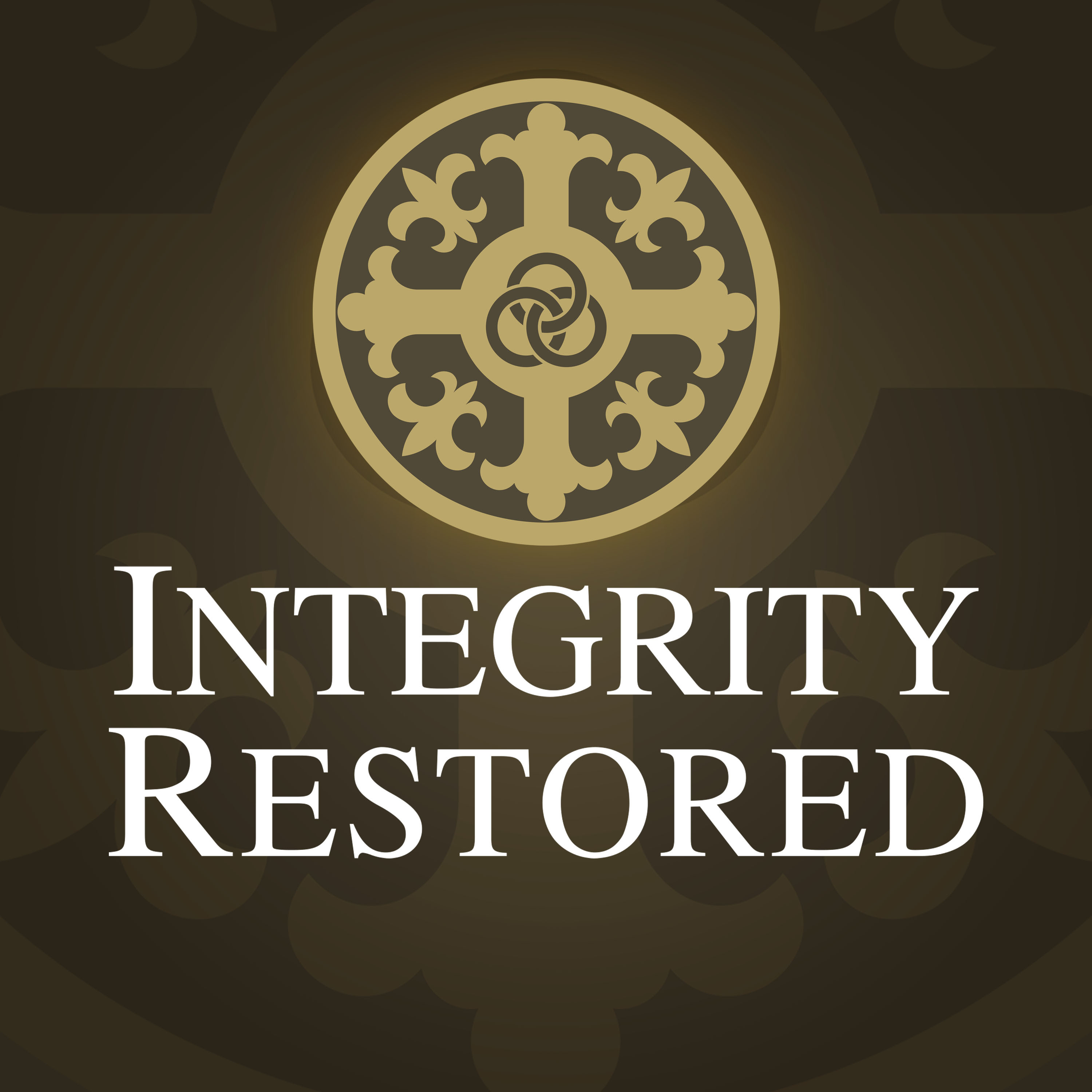 Integrity Restored Podcast show art