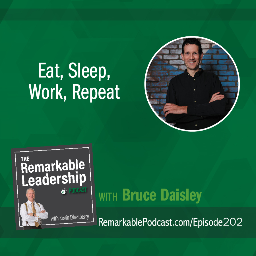 Eat, Sleep, Work, Repeat with Bruce Daisley show art