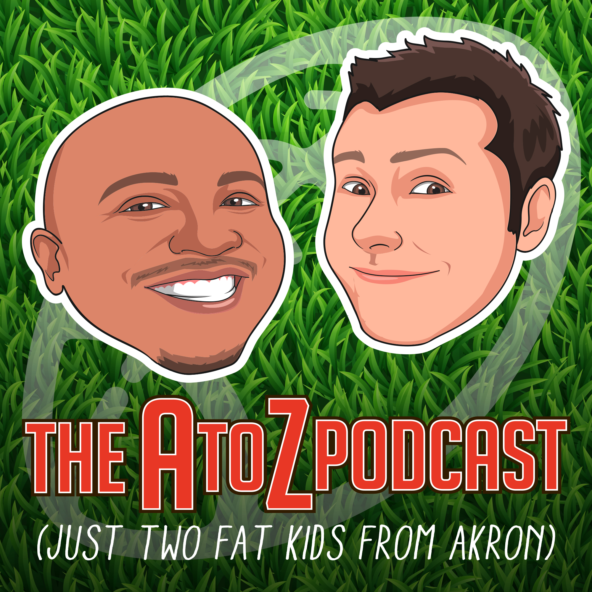 The A to Z Podcast With Andre Knott and Zac Jackson show art
