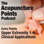 Artwork for Extra Points, Upper Extremity 1-6, Acupuncture Points and Clinical Applications