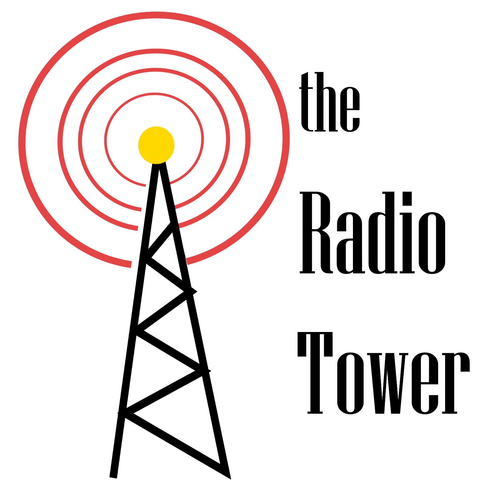 The Radio Tower show art
