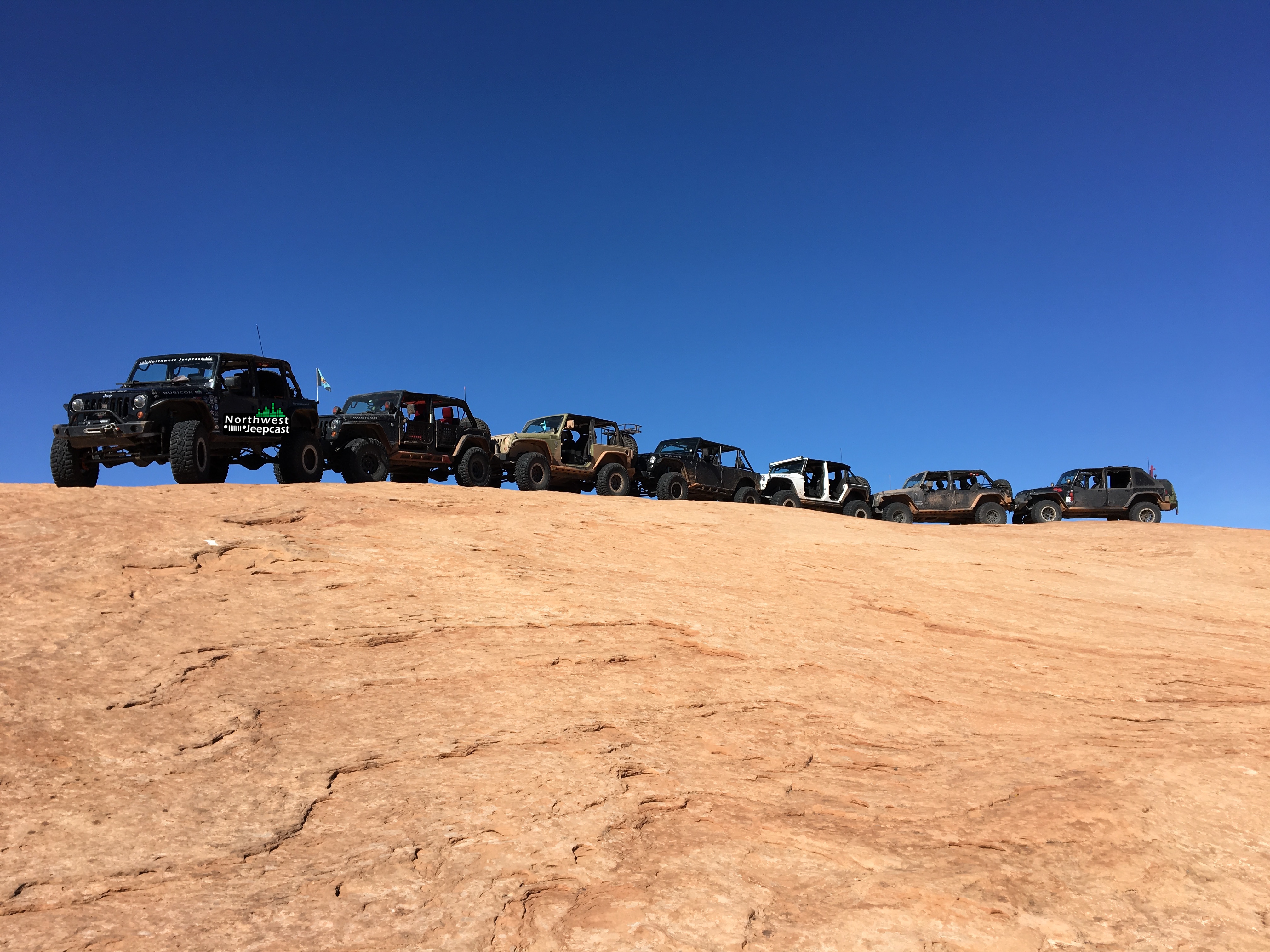 Northwest Jeepcast - A Jeep Podcast - Moab 2017