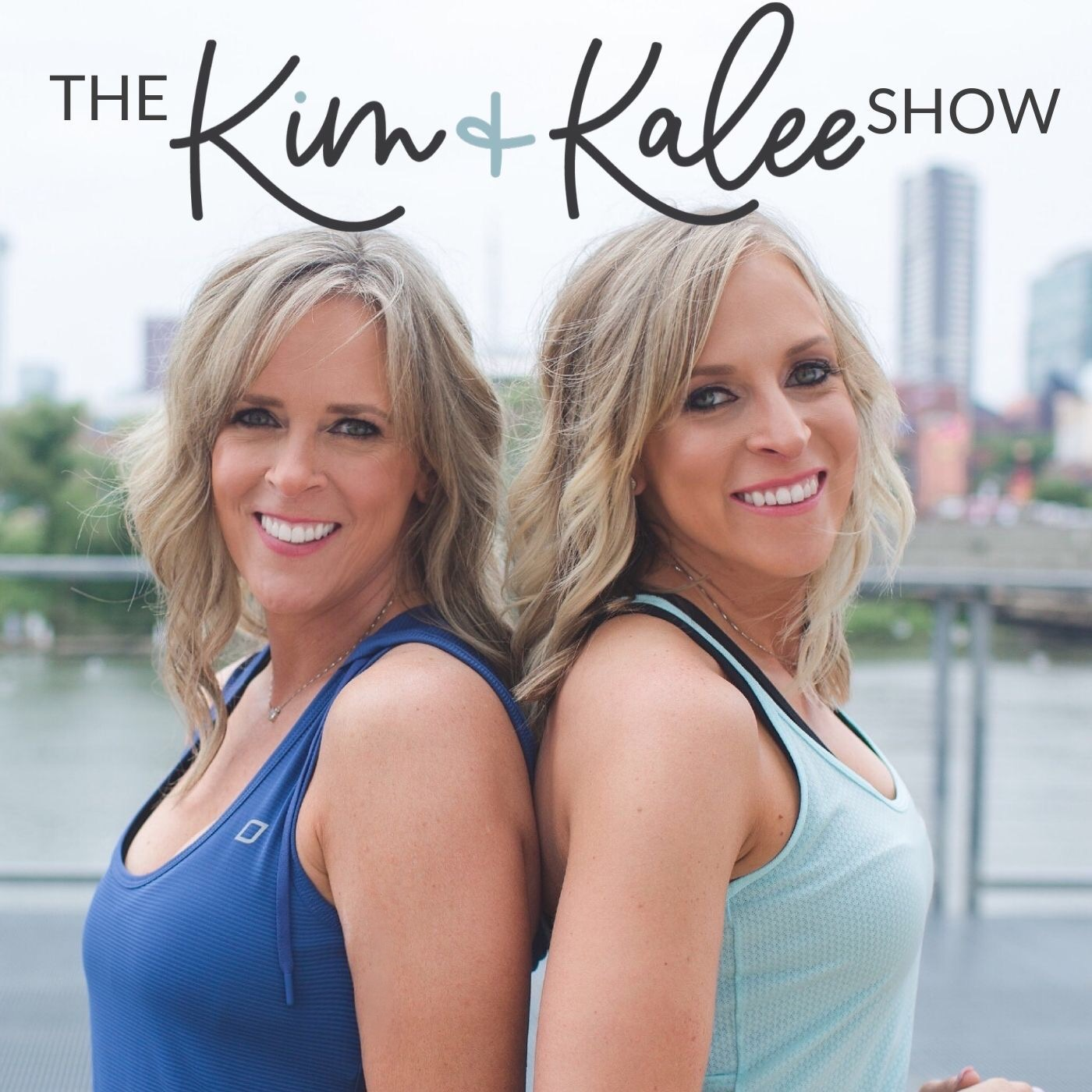 The Kim and Kalee Show show art