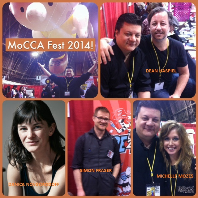 Episode 531 - MoCCA Merriment w/ Dean Haspiel/Simon Fraser/Danica Novgorodoff/Michelle Mozes