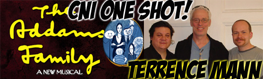Episode 253 - One Shot!  Terrence Mann (Addams Family Musical)