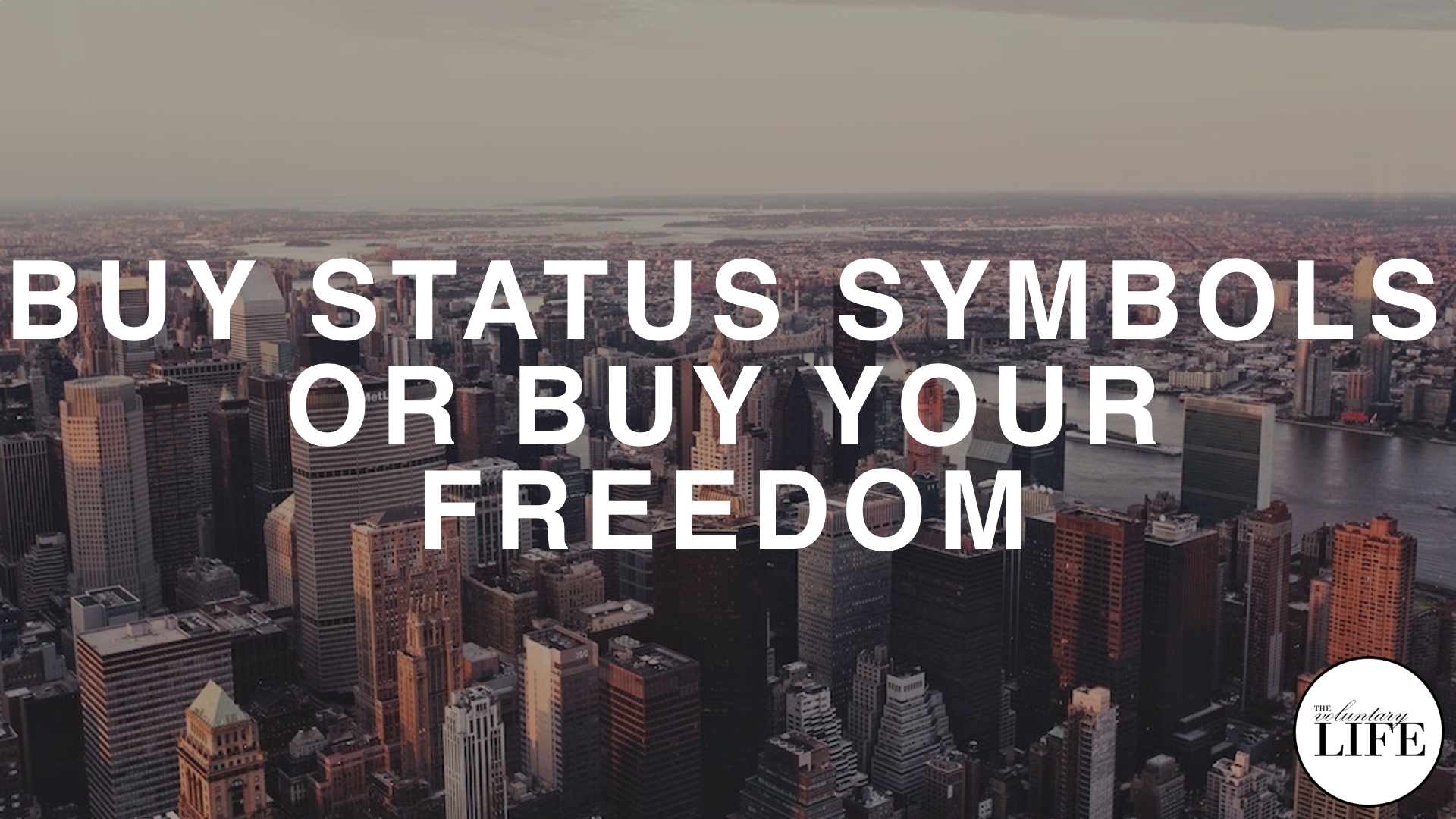 183 Financial Independence Part 3: Buy Status Symbols or Buy Your Freedom