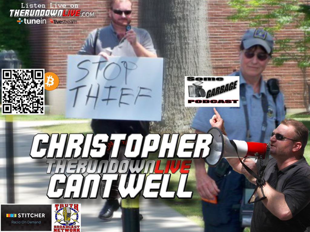 The Rundown Live #173 Christopher Cantwell (Liberty Movement,Being Offended,Controversy)