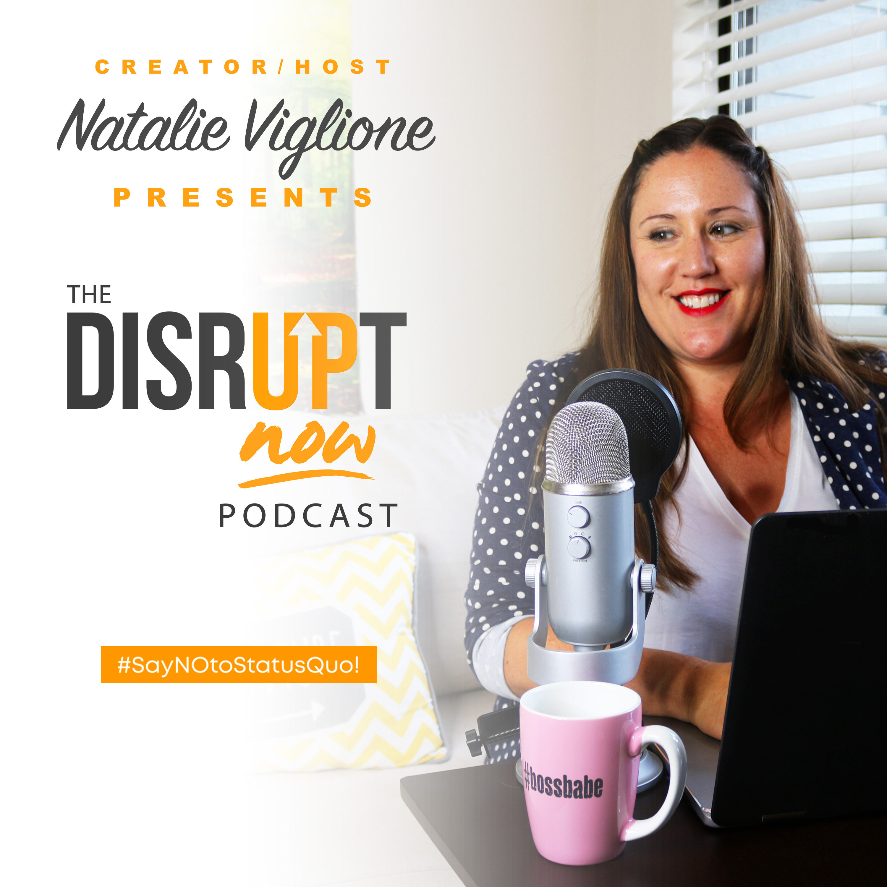 Disrupt Now Podcast show art