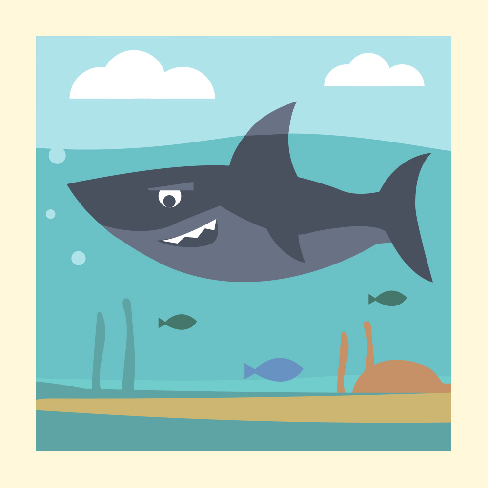 Enjoy this Snappy Poem about a Scary Shark - Storytelling Podcast for Kids - The Shark: E31