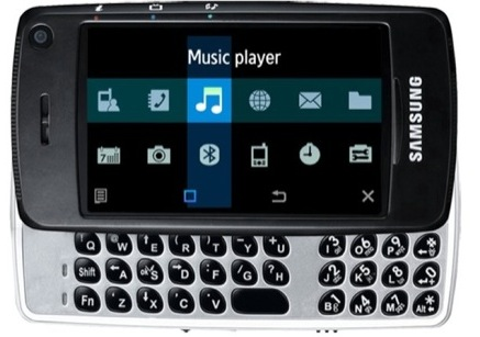 Samsung Ultra Smart F520 - Pantalla táctil, teclado deslizable y HSDPA