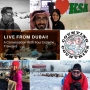 Artwork for Live From Dubai! … A Conversation With Four Extreme Travelers
