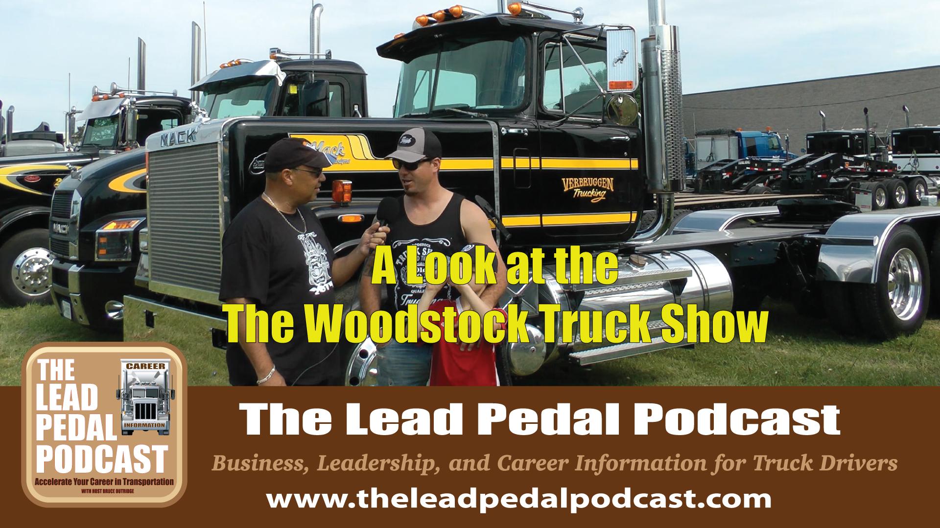 Woodstock Truck show