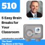 Artwork for 5 Easy Brain Breaks for Your Classroom