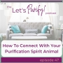 Artwork for 47: How To Connect With Your Purification Spirit Animal