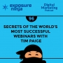 Artwork for #96: Secrets Of The World's Most Successful Webinars With Tim Paige
