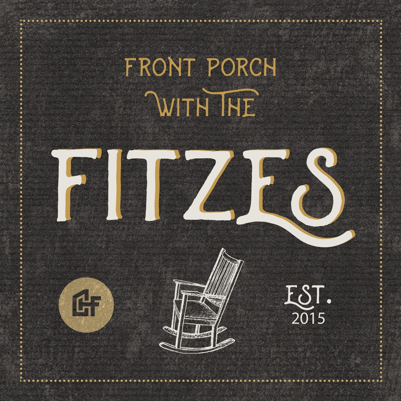 Front Porch with the Fitzes show art