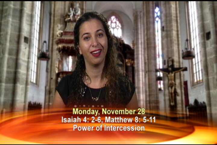 Artwork for Monday, November 28, 2016 Today's topic: Power of intercession