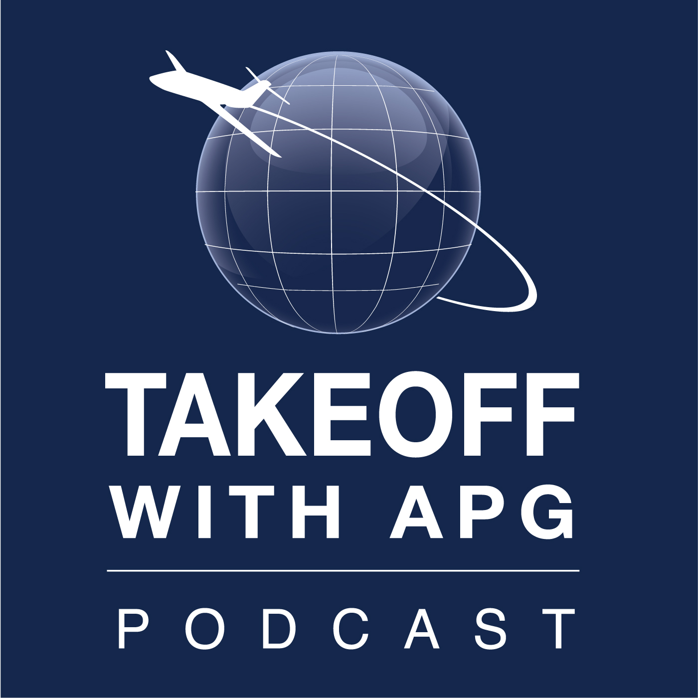 TAKEOFF With APG podcast show art