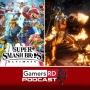 Artwork for GamersRD Podcast #45: Super Smash Bros. Ultimate Review, impresiones del trailer de Mortal Kombat 11