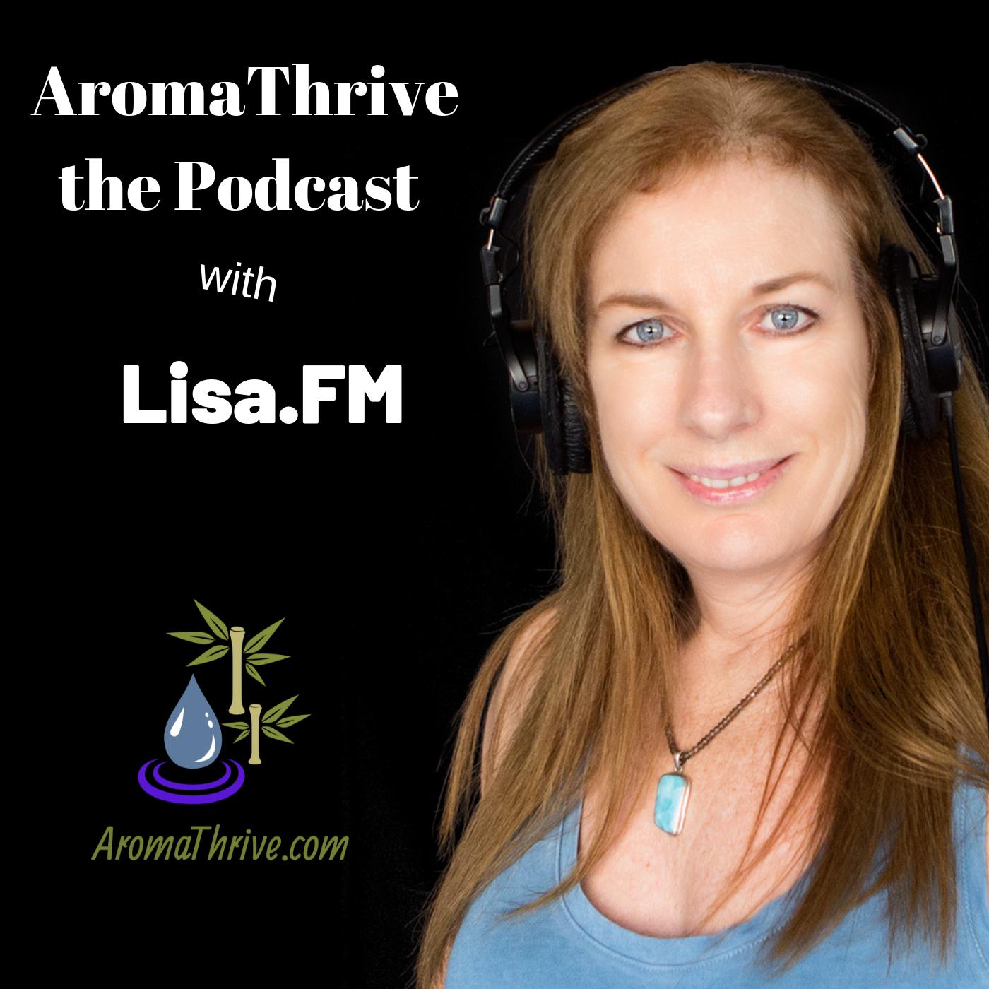 AromaThrive with Lisa show art