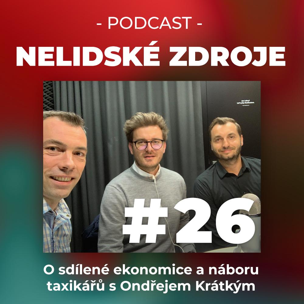 26: O sdílené ekonomice a náboru taxikářů s Ondřejem Krátkým, CEO společnosti Liftago