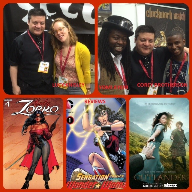 Episode 562 - Yet Even More SDCC w/ Lucy Knisley & Yomi Ayeni/Corey Brotherson!