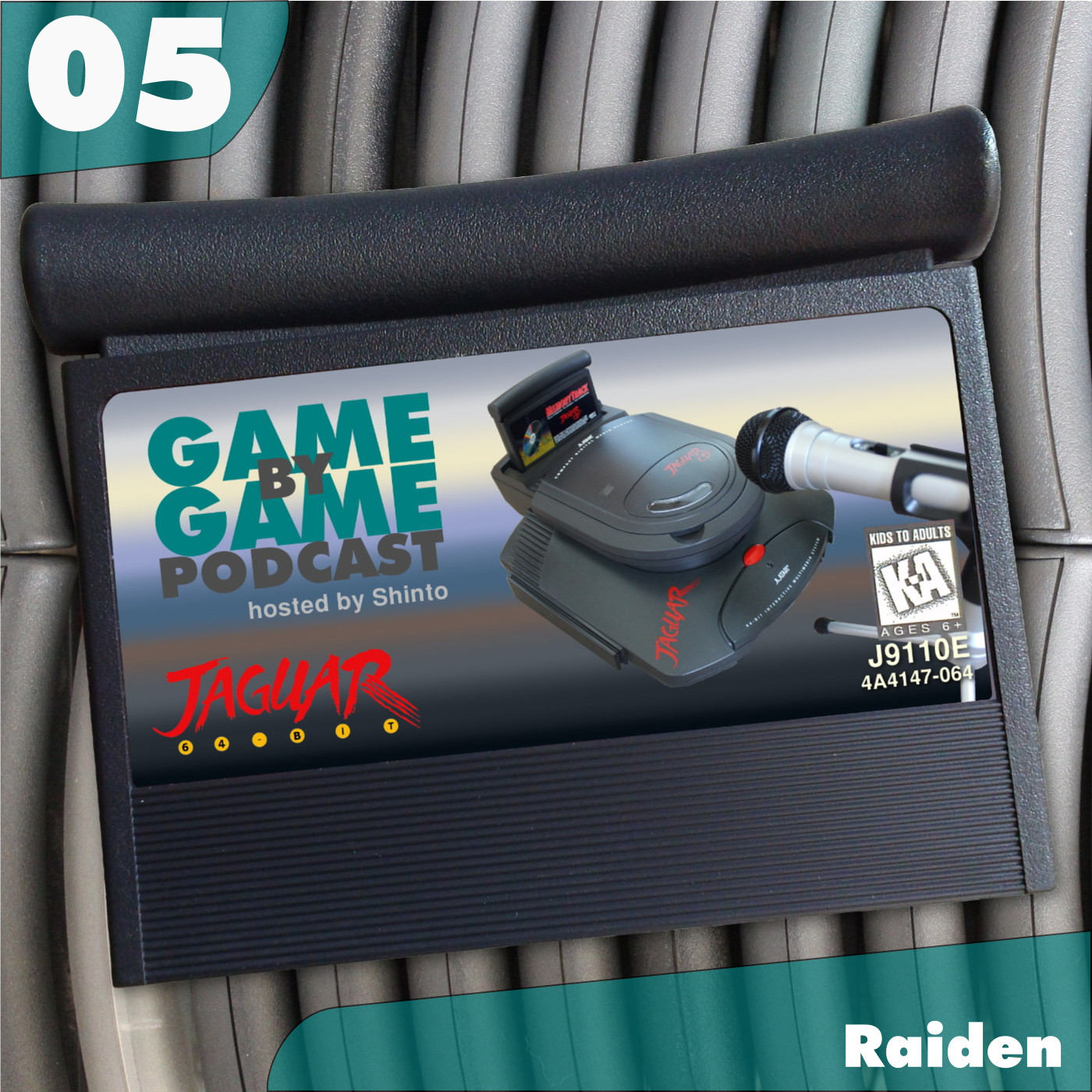 Artwork for 05 - Raiden