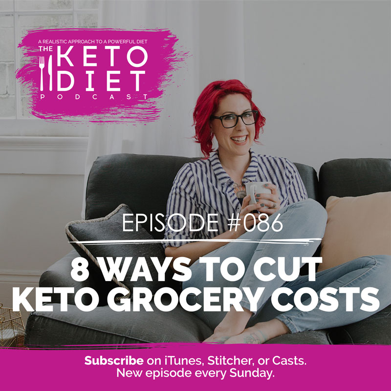 #086 8 Ways to Cut Keto Grocery Costs with Cristina Curp