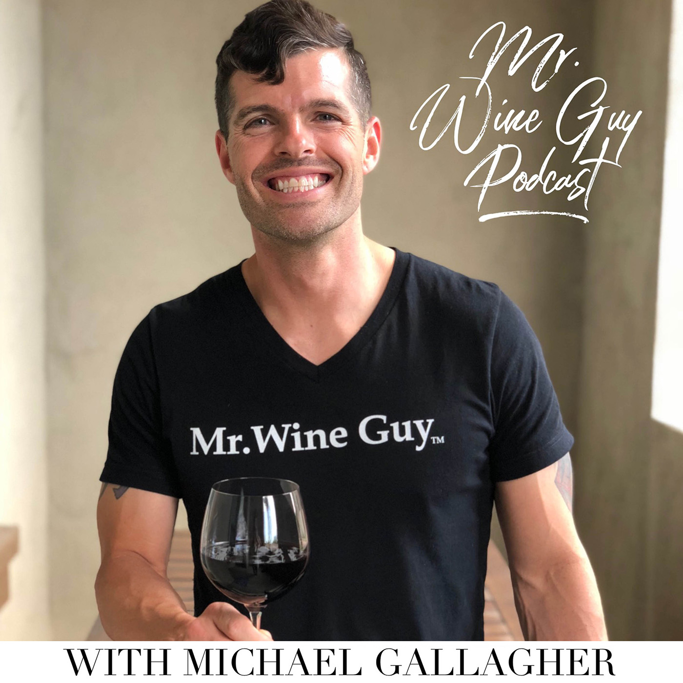 Mr. Wine Guy Podcast show art