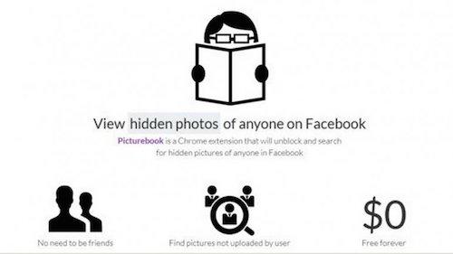 Una aplicación descubre las fotos secretas de usuarios en Facebook