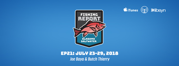Alabama Saltwater Fishing Report - Ep21 - July 23-29, 2018