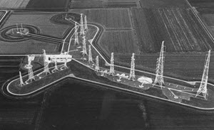 MN.11.11.1982: First stone at Flevoland Transmitter Centre