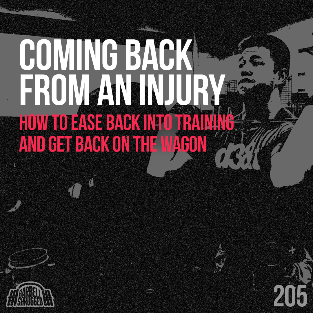 Coming Back From an Injury: How To Ease Back Into Training and Get Back on the Wagon