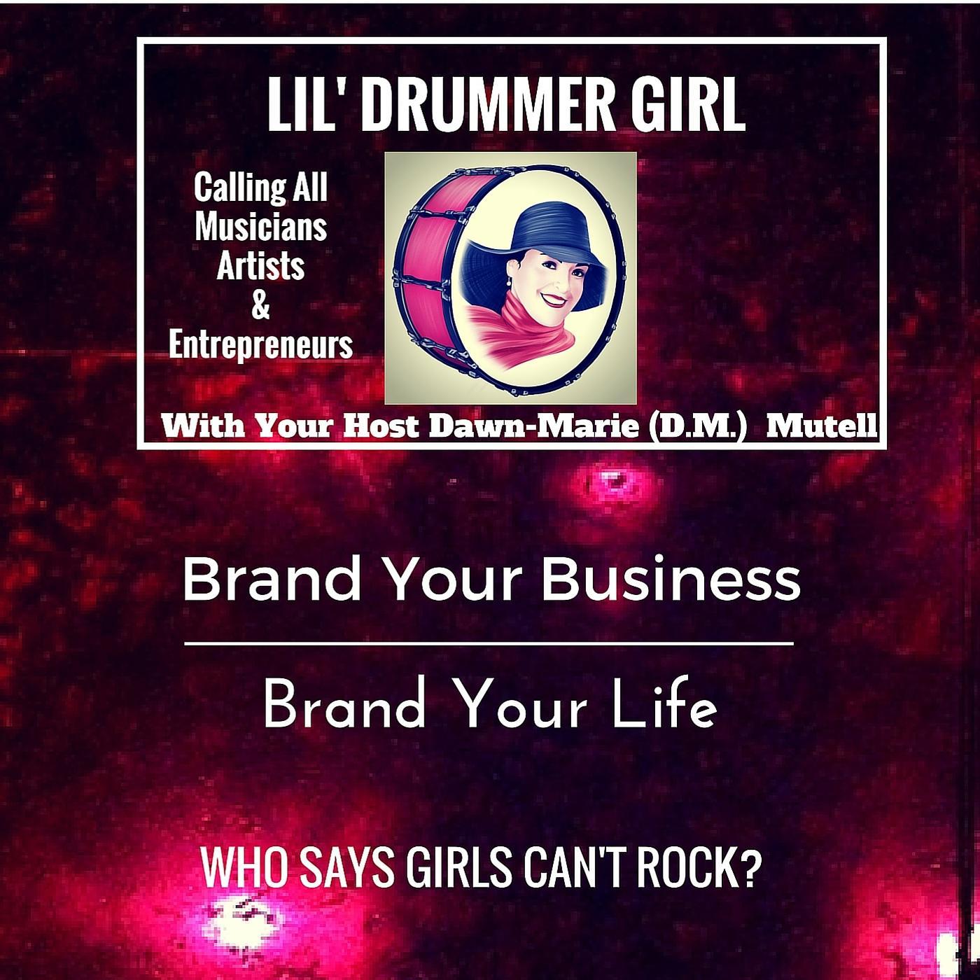 Lil' Drummer Girl show art