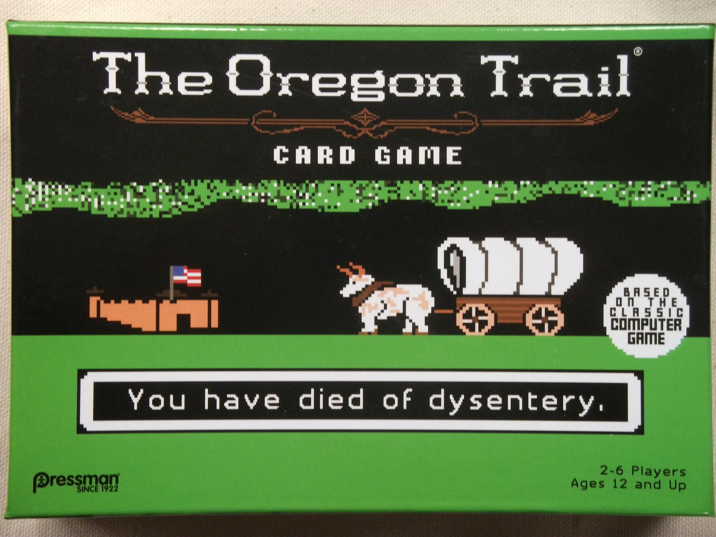 The Oregon Trail - Card Game Box