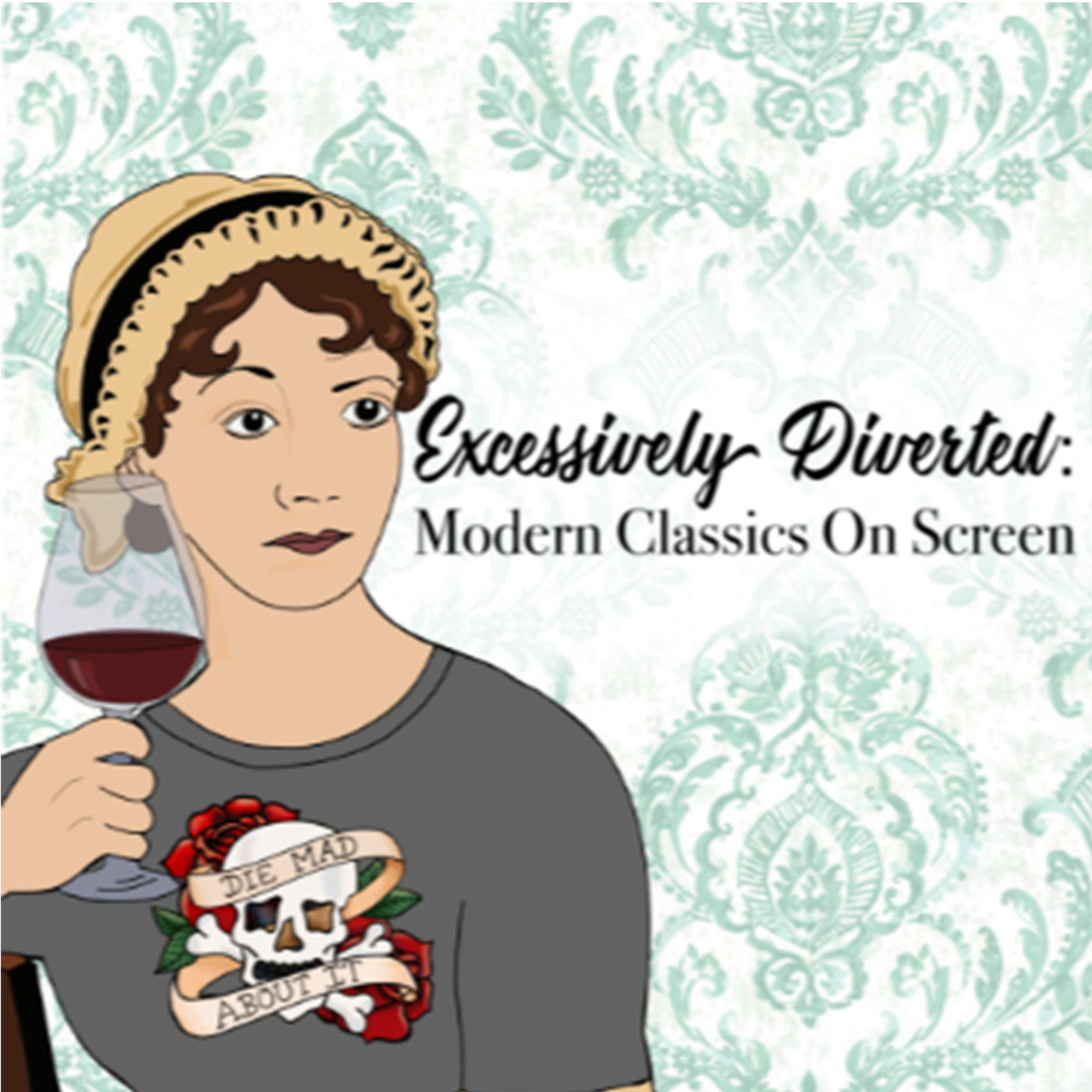 Artwork for Episode 12 - Bride and Prejudice with Drunk Austen!