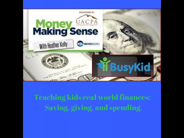 Money Making Sense: Teaching kids to save, share and spend money